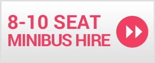 8-10 Seater Minibus Hire Rugby